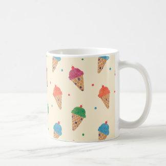 Motif de crème glacée d'amusement mug