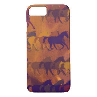 motif de ferme de chevaux coque iPhone 7
