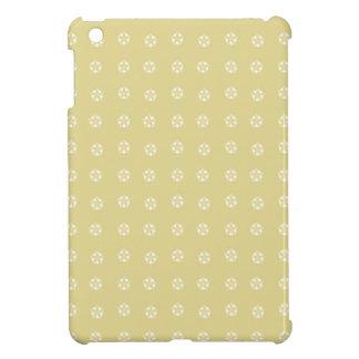 Motif de fleur de citron étui iPad mini