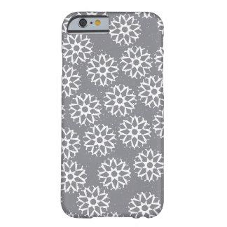 Motif de flocons de neige - cadeaux de Noël Coque iPhone 6 Barely There