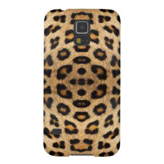 Motif de fourrure de léopard coque pour samsung galaxy s5