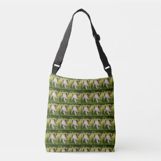 Motif de Fox Terrier, sac d'épaule de Crossbody