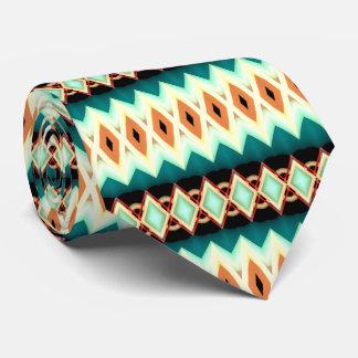 Motif de fractale de diamant cravate
