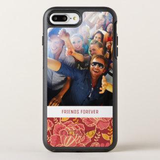 Motif de jardin d'automne de photo et de textes coque otterbox symmetry pour iPhone 7 plus