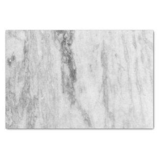 Motif de marbre blanc et gris de texture papier mousseline