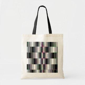 Motif de recourbement de boîtes sac en toile budget
