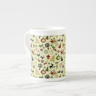 Motif de réveillon de Noël Mug