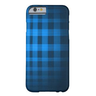 Motif de tartan de fantôme de bleus layette coque iPhone 6 barely there