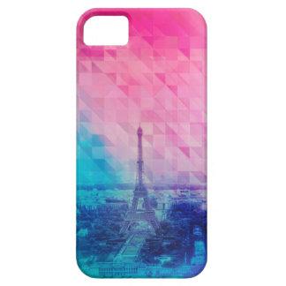 Motif de triangle de Paris Étuis iPhone 5