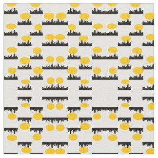 Motif de ville tissu