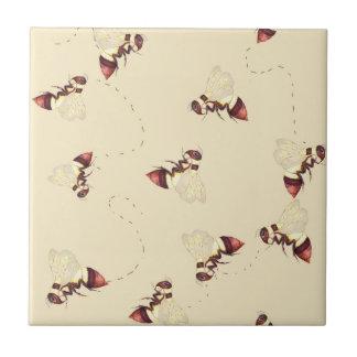Motif de vol de bourdon carreau en céramique