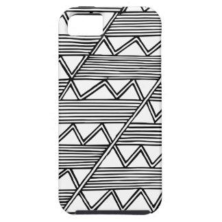 Motif de zigzag iPhone 5 case