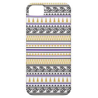 Motif en arête de poisson géométrique aztèque coque Case-Mate iPhone 5