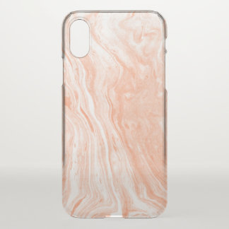 Motif en pierre de marbre de tons en pastel coque iPhone x