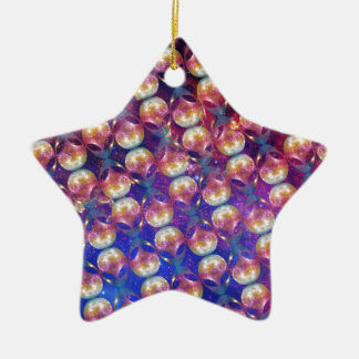 Motif étranger ornement étoile en céramique
