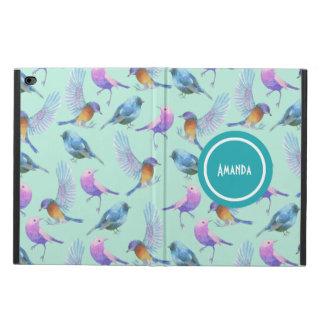 Motif exotique sauvage d'aquarelle d'oiseaux coque powis iPad air 2