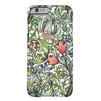 Motif floral de chintz de lis d'or de William Morr