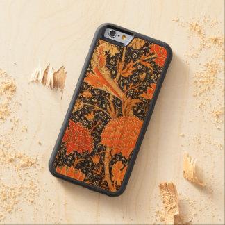 Motif floral de Nouveau d'art de William Morris Coque iPhone 6 Bumper En Cerisier