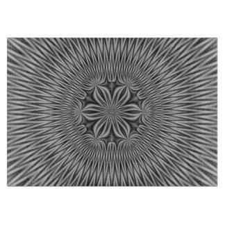 Motif floral de planche à découper dans le