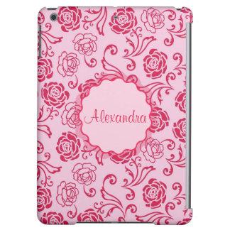 Motif floral de trellis des roses de thé sur le