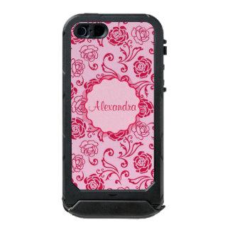 Motif floral de trellis des roses de thé sur le coque iPhone 5 incipio ATLAS ID™