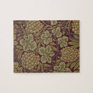 Motif floral de vigne de William Morris Puzzle