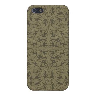 Motif floral décoratif étuis iPhone 5