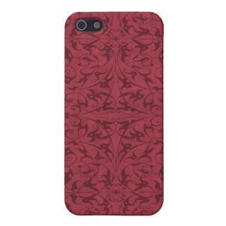 Motif floral décoratif iPhone 5 case