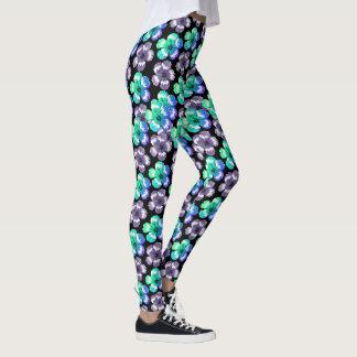 Motif floral leggings