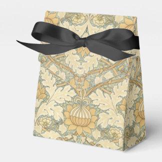 Motif floral par William Morris - faveur+boîte Ballotin De Dragées