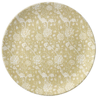 Motif floral par William Morris - plat de Assiette En Porcelaine