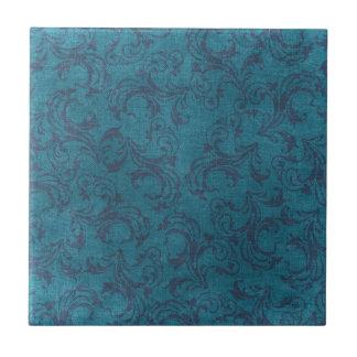 motif floral vintage carreau