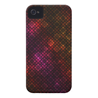 Motif foncé de diamant coque iPhone 4 Case-Mate