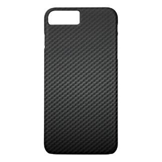 Motif fort de luxe de texture de fibre de carbone coque iPhone 7 plus