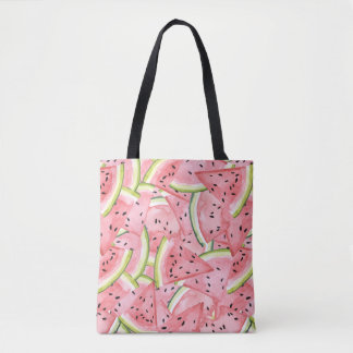Motif frais d'été de pastèque sac
