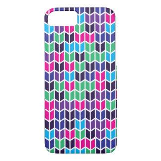 Motif géométrique coloré coque iPhone 7