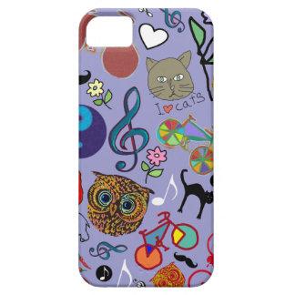 motif girly mignon de couleur coque iPhone 5