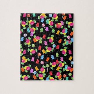 Motif gommeux d'ours puzzle