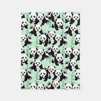 Motif graphique d'ours panda