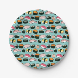 Motif illustré par amusement délicieux de partie assiettes en papier