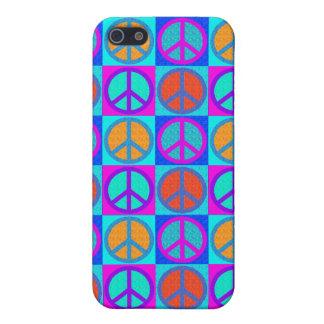 motif IPhone 4 de signe de paix Étui iPhone 5