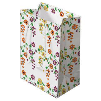 Motif NO.2 : Sac accrochant de cadeau de fleurs