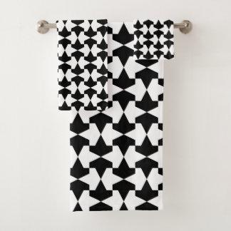 Motif noir et blanc classique de Mamluks