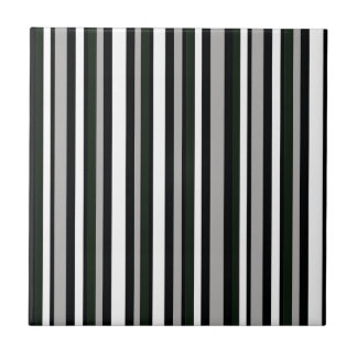 motif noir et blanc de rayures petit carreau carré