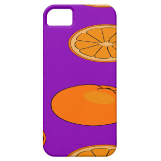 Motif orange de fruit coque iPhone 5 Case-Mate