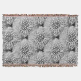 Motif pelucheux d'art de nature de fleur de couverture