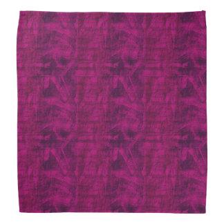 Motif pourpre de texture bandana