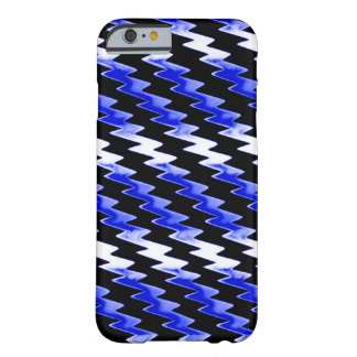 Motif psychédélique de minuit de foudre coque barely there iPhone 6