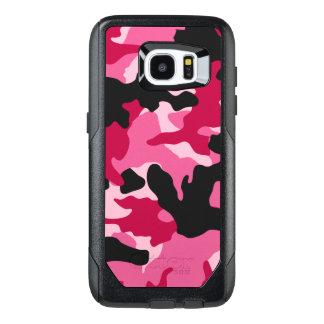 Motif rose foncé Girly de camouflage de Camo de