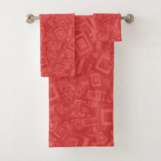 Motif rouge d'abrégé sur moderne contemporain